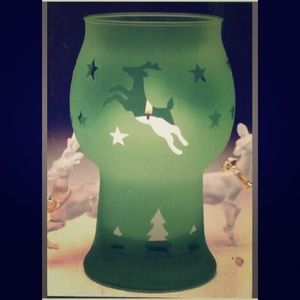 Pfaltzgraff Christmas Silhouette Candle Holder
